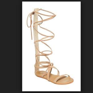 Matisse Atlas Gladiator Nude Tan Sandal 8